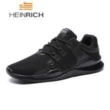 HEINRICH Men Summer Shoes New Fashion Man Sneakers Breathable Lace-Up Mens Casual Zapatillas Hombre Deportiva