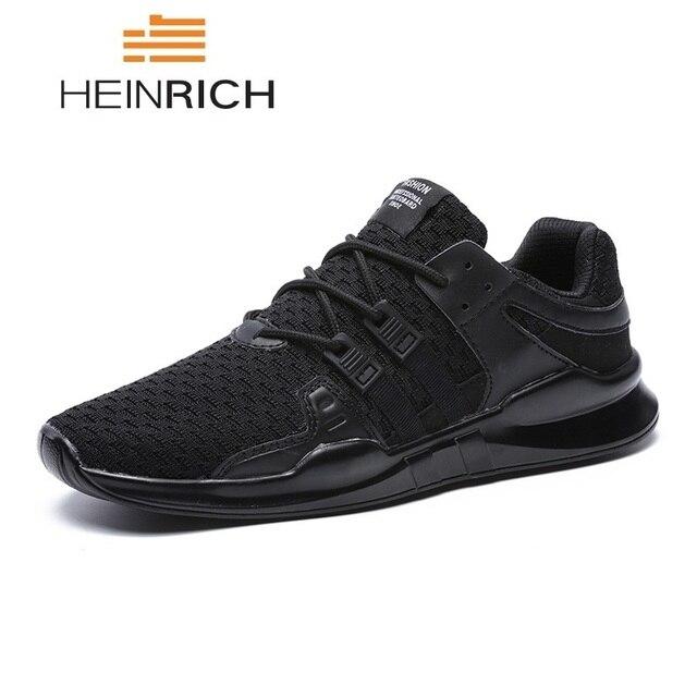 3f623af588fc5 HEINRICH los hombres de verano Zapatos nuevos zapatos de Hombre de moda  Zapatillas de deporte transpirables