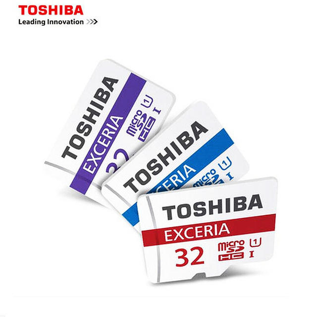 Genuine TOSHIBA Memory card micro sd Card 32GB Class10 UHS-1 for phone tablet GPS Tachograph DVR + adapter retail package