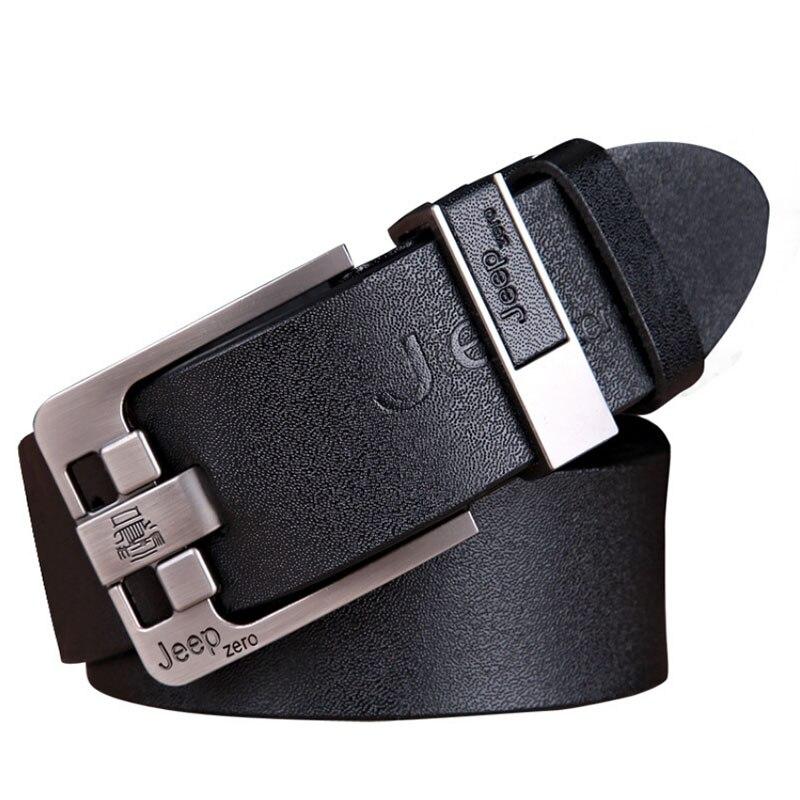 Designer Best Quality 100% Upper Genuine Leather Alloy Pin Buckle   Belt   For Men Fashion Business Men   Belts   Vintage Style Gift