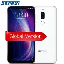 Resmi Küresel Sürüm Meizu X8 4 GB 64 GB Cep Telefonu Snapdragon 710 Octa Çekirdek 6.15 ''2220x1080 P Ön 20MP Kamera Parmak Izi