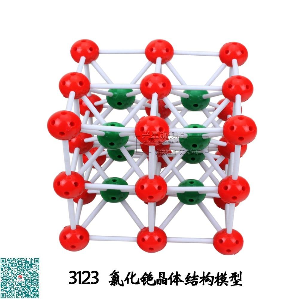 Química Estructura Molecular Modelo Csc1 Cesium Cloruro