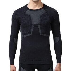 Image 2 - YOOY vêtements dhiver Sexy pour hommes, ensemble deux pièces, Johns grande taille, vêtements pour hommes, Long, à séchage rapide, sous vêtement thermique