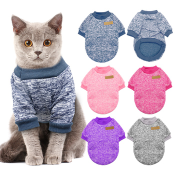 Warm Cat Clothes Sweater