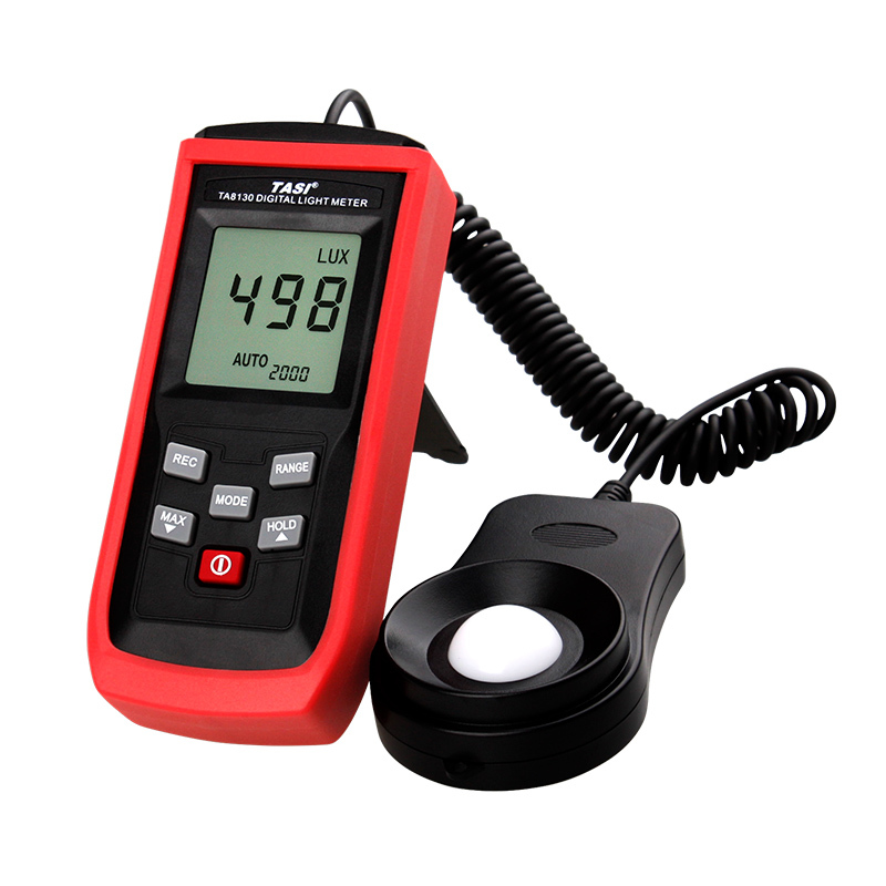 Free shipping TA8130 100000Lux split Digital LCD screen Pocket Light Meter Lux/FC Measure Tester Visible brightness luxmeter free shipping uni t c handeld lcd luminometer illuminometer lux meter tester