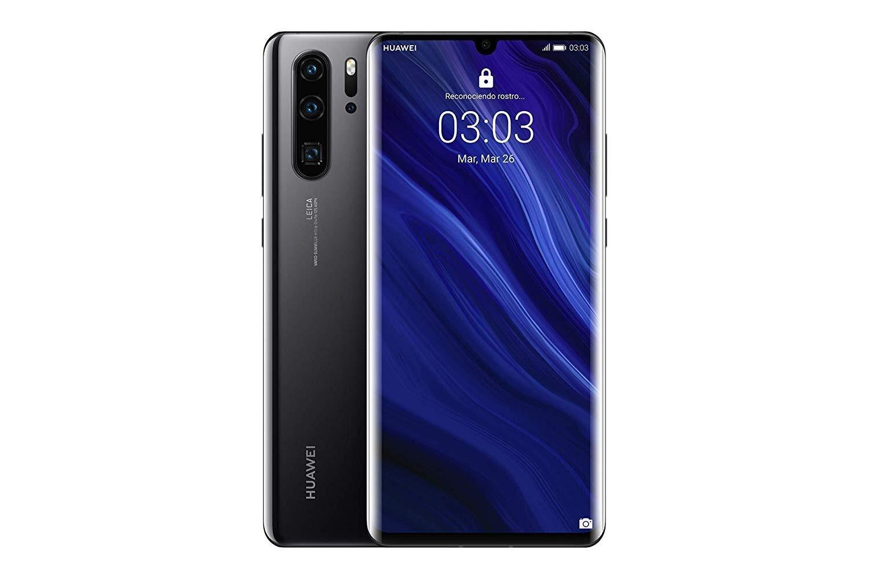 Huawei P30 Pro, couleur noire (noir), bande 4G, double SIM, interne 128 GB de Memoria, 6 go de RAM dur, écran 6.1