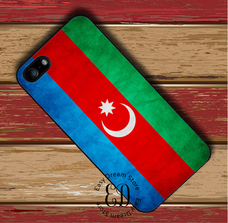 Azerbaijan Grunge Flag case for Huawei P7 P8 P9 p10 p20 mate 8 9 10 20 pro lite Honor 6 8 9 10 nova 2
