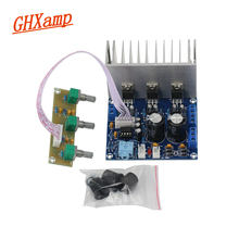 GHXAMP 2.1 Subwoofer audio amplifier board TDA2030A 20W*2+30W Subwoofer Speaker Box Baord AC Dual12V