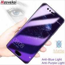 For Huawei P Smart 2019 Nova 4 Enjoy 9 Honor 10 Lite 8X Max View20 Magic 2 Tempered Glass Matte Anti Blue Light Screen Protector