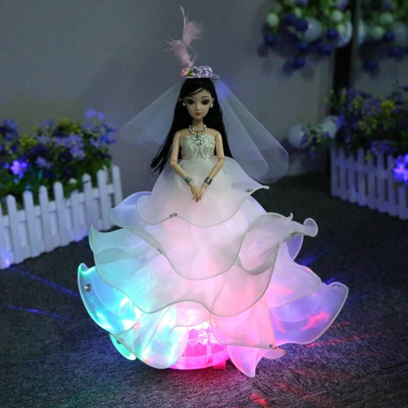 Wedding Singing Dancing Rotating Dolls Toys For Girls Lol Dolls For Girls Children Toys Baby Reborn Doll Toy Girl