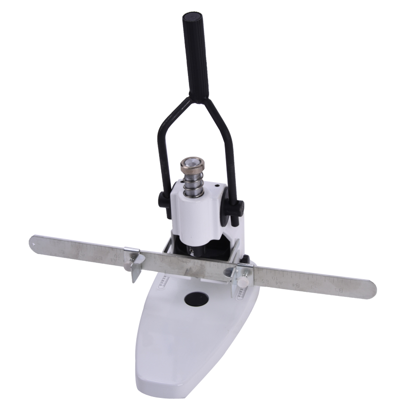 1PC QY-T30 hole-punches manual single Hole Punching Machine for Paper, PP PVC Plastic bags, Cloth Punching machine t30 paper drilling machine manual hand hole punch paper machine single hole thickness 35mm manual single hole drilling machine
