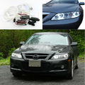 Для Mazda6 Mazda 6 Mazdaspeed6 2002-2008 Отлично Ultrabright лампы подсветки CCFL Angel Eyes kit Halo Angel Eyes Кольцо