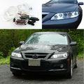 For Mazda6 Mazda 6 Mazdaspeed6 2002-2008 Excellent Angel Eyes Ultrabright headlight illumination CCFL Angel Eyes kit Halo Ring