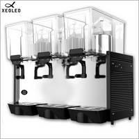 XEOLEO Cold Drink Dispenser 3*15L tanks Mix type Juice Dispenser Automatic Beverage machine Cold Drink machine For Coke juice