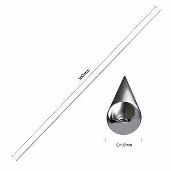 Kit de reparación de parachoques de coche de 1,6mm/2,0mm de diámetro de alambre de soldadura de aluminio