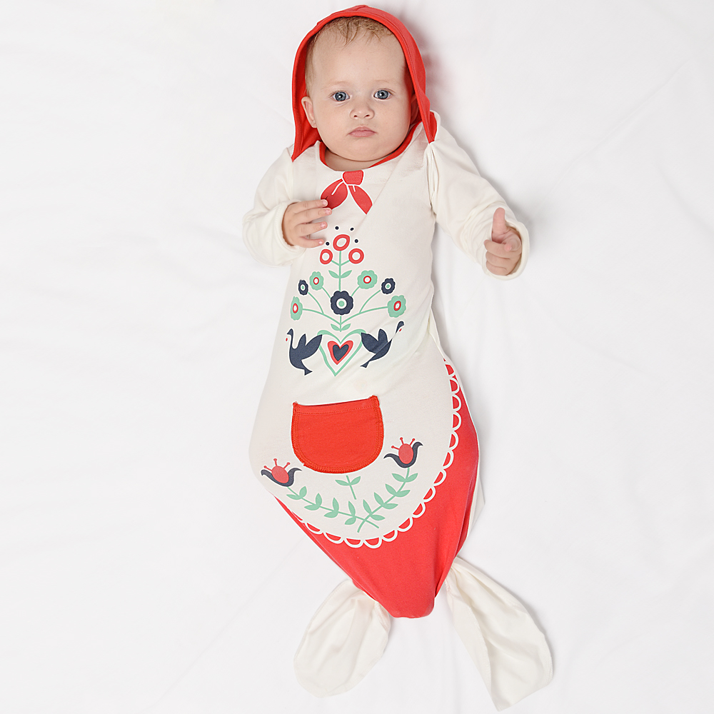 Niuniu Daddy Baby sleeping bag Mermaid tail blanket Baby