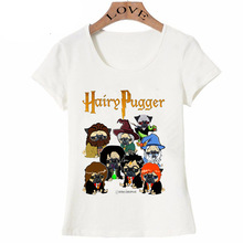 Ladies Short Sleeve 'Hairy Pugger T-Shirt'