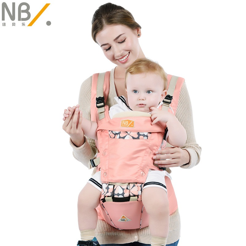 ФОТО 2017 Limited Newbealer Four Seasons Special Anti Decline Baby Child Multifunction Adjustable Straps Kids Breathable Waist Stool