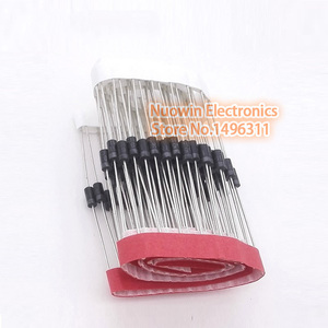 100PCS IN5819 DO-41 1A 40V SCHOTTKY DIODE 1N5819