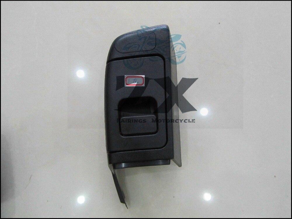 Injection mode For Black left side Trunk Pocket Saddlebag For Honda GL1800 GOLDWING 2006-2012 2007 ZXMT ветровик rein для honda cr v iii 2006 2012 кроссовер на накладной скотч 3м 4 шт