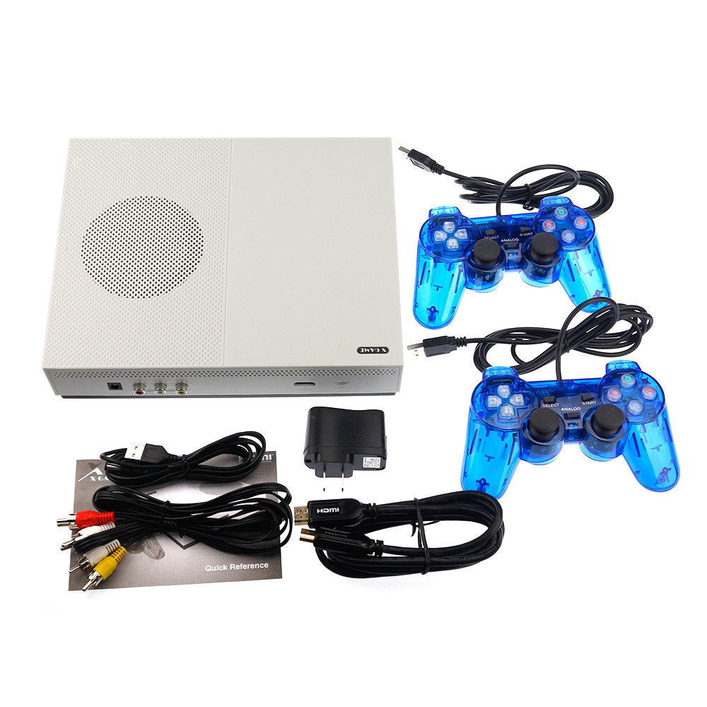 NEW HD TV Video Game Console Built-in <font><b>sd</b></font> <font><b>card</b></font> 4GB 600 classic game For GBA/SNES/SMD/NES Format HDMI out put dual gamepad image