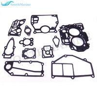Motor Do barco Poder Cabeça Junta de Vedação Completa Kit para Nissan Tohatsu 9.8hp 4-stroke 8hp NSF MFS8 MFS9.8