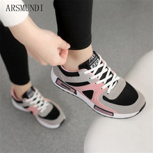 ARSMUNDI Spring New Designer Pink Platform Sneakers Women Vulcanize Shoes Tenis Feminino Lace-up Casual Female Woman M409