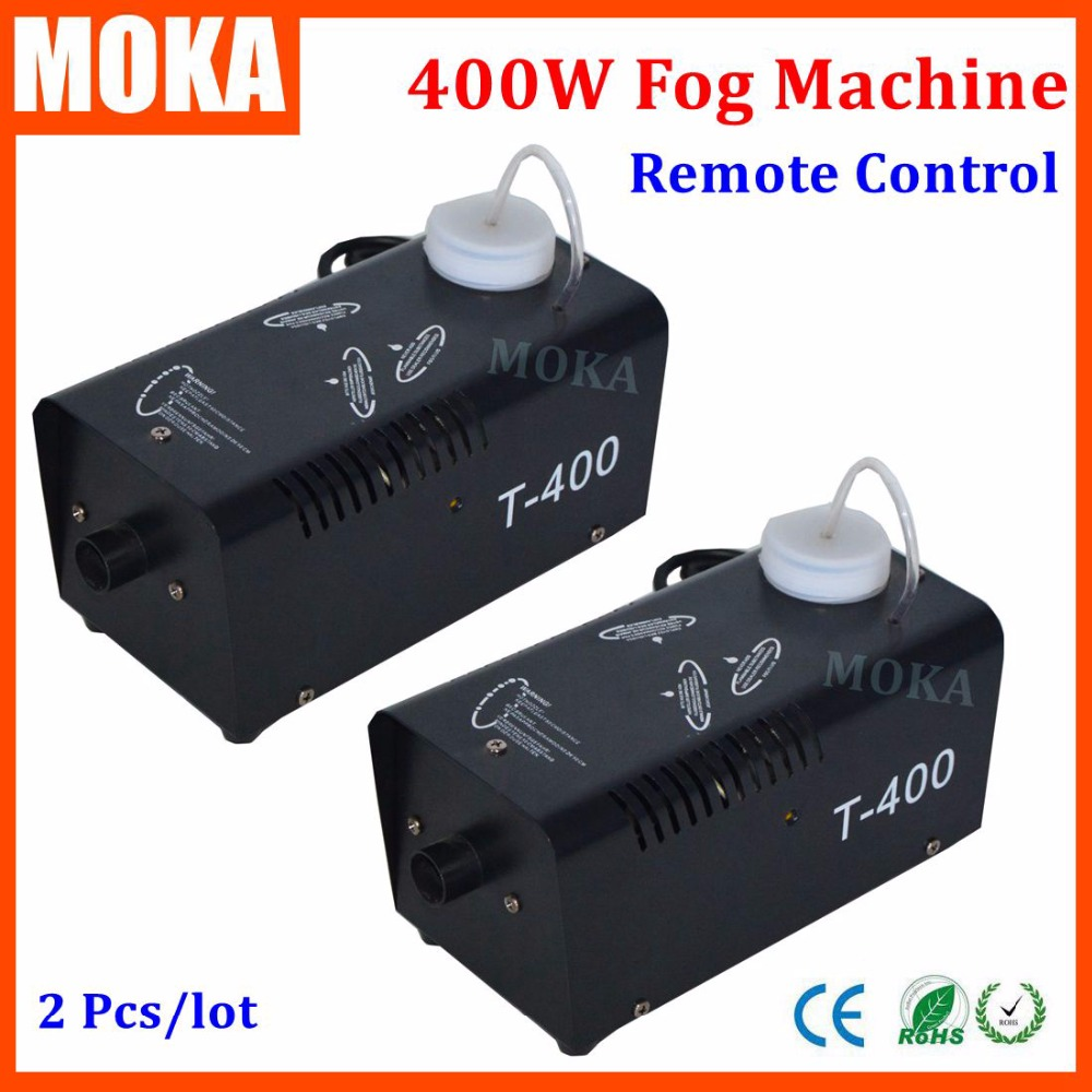 2 Pcs/lot high quality 400w spray smoke machine heater fogger cloud maker 10 minute Warm Up Time stage effect machine