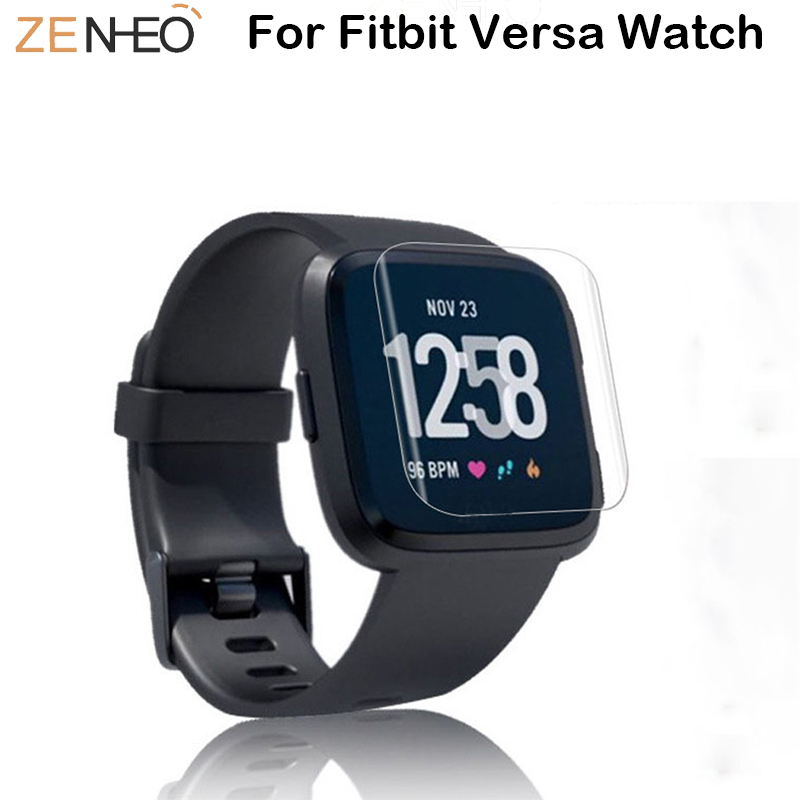 3pcs / 5pcs Screen Protector Accessories For Fitbit Versa Smart Bracelet HD Protective Film Tempered films