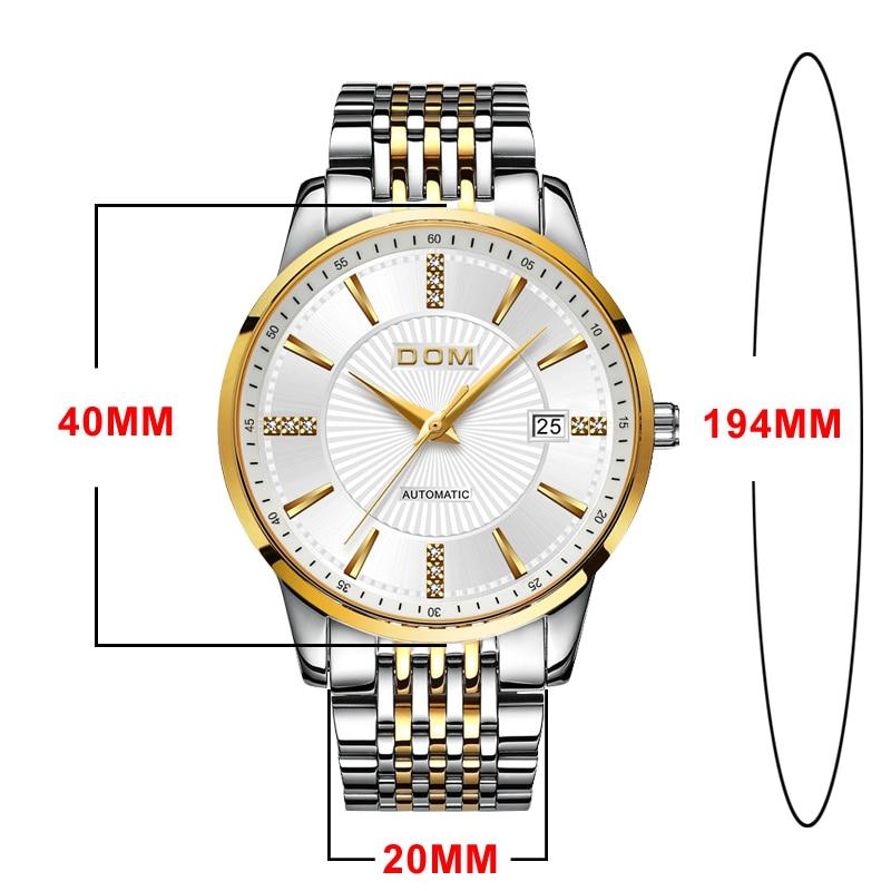 2018 ახალი Relojes DOM კაცი - მამაკაცის საათები - ფოტო 5
