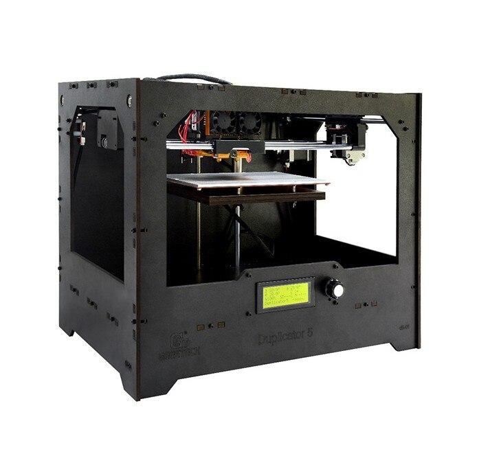 2 imprimante étendue + 3D clone bricolage kit complet/ensemble (non assembler) buse unique 2 imprimante étendue + 3 D