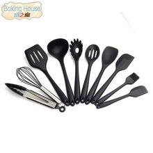 10 Teile/satz Haushalt Küche Silikon Kochen Utensil Set Hochtemperaturbeständige Küche Kochen Werkzeuge