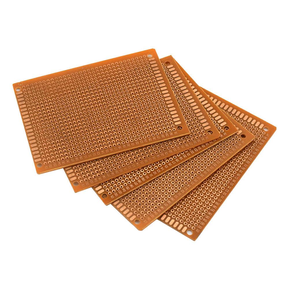 10Pcs 5x7/7x9/9x15/12x18cm מודפס מעגל לוח DIY Prototype PCB טיפוס המעגלים עבור אלקטרוני Diy Arduino פרויקטי