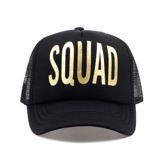 placeholder 2018 hot sale unisex groom squad printing baseball cap mesh  snapback hat for wedding party men a81b96f22c1