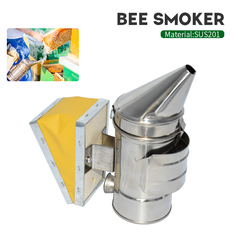 Brand Bee Smoker Bee Hive Transmitter Kit Beekeeping Tool High Quality Beekeeping Equipment Stainless Steel Suitable for Smoker-in Beekeeping Tools from Home & Garden