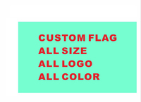 Custom Banner Flag 60 90cm 2x3FT 100D Polyester Any Logo All Color Royal Custom Falg Raiders