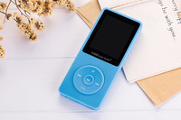 The Letter X02 MP3 Player Screen Sea Promise Mini Walkman Students Sport Music Recording Pen