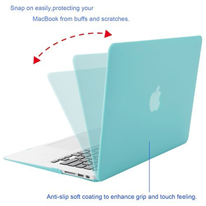 MOSISO For New MacBook Pro Retina 13 Case 2018 with Touch Bar Keyboard Cover Matte Laptop Case Cover for macbook A1706 A1708 in Laptop Bags Cases from Computer Office