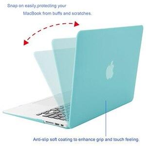 Image 3 - MOSISO Voor Nieuwe MacBook Pro Retina 13 Case 2018 met Touch Bar & Keyboard Cover Matte Laptop Case Cover voor macbook A1706 A1708