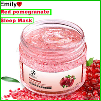 Red Pomegranate Sleeping Mask Face Care Whitening Dark Spot Remover Facial Mask Anti Wrinkle Anti Aging