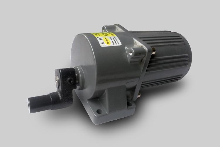 AC220V 120W 50K Horizontal Crank Motor Micro Gear Reducer Motor Power Tools / Large Toys / DIY Accessories