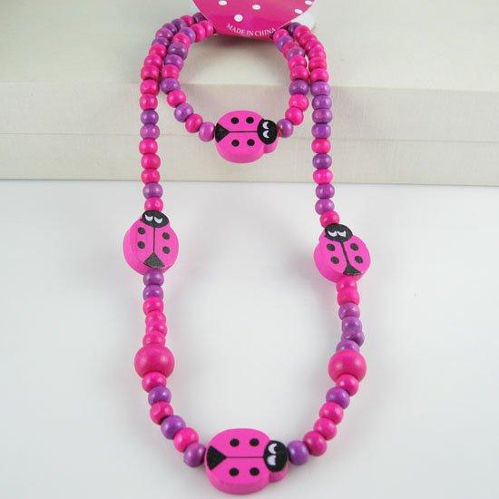 Handmade jewelry! Lovely beetle jewelry set chilren/kid ...