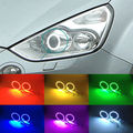 For Ford S-Max 2006-2014 Excellent Angel Eyes kit Multi-Color Ultrabright 7 Colors RGB LED Angel Eyes Halo Ring