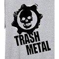 Indiano crânio de metal black metal slayer megadeth camiseta punk rock estilo novo