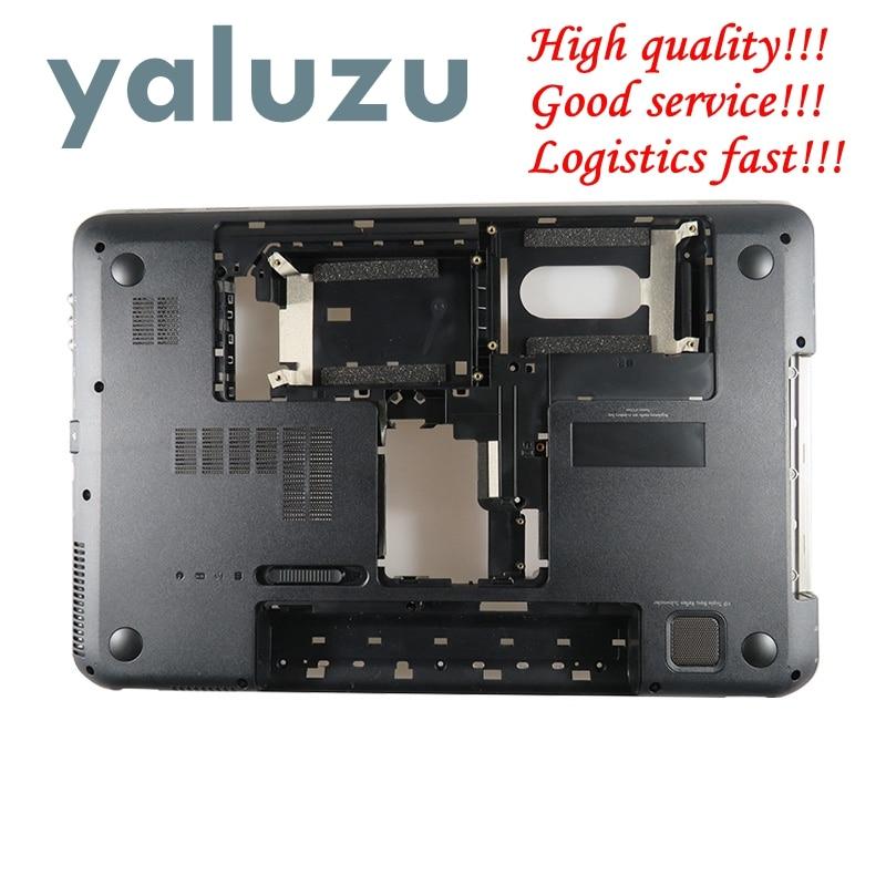 YALUZU 95%New For HP For Pavilion DV7 DV7-6000 Series Bottom Base Case Cover 665978-001 Shell LOWER CASE Laptop BLACK 680944-001