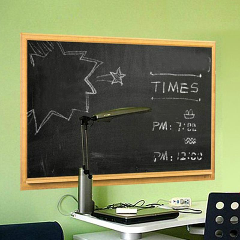1pc black board sticker school office meeting chalk board sticker