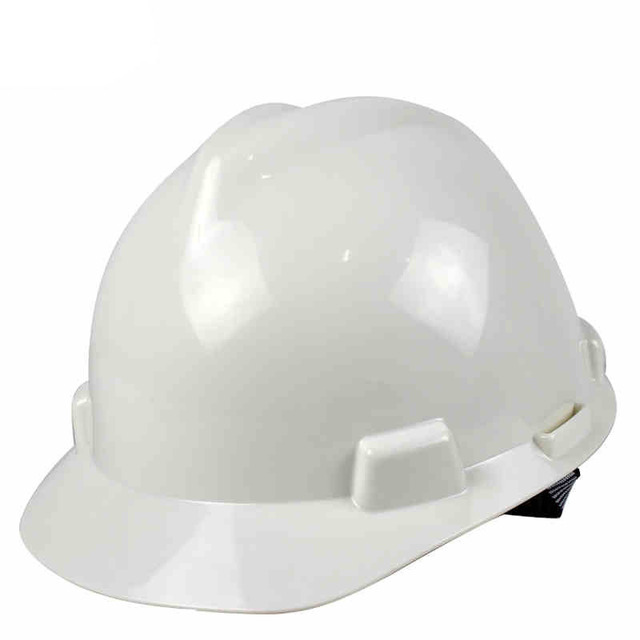 High strength ABS V-type safety helmet job site construction engineer work protective safety hard hat anti-smashing work cap