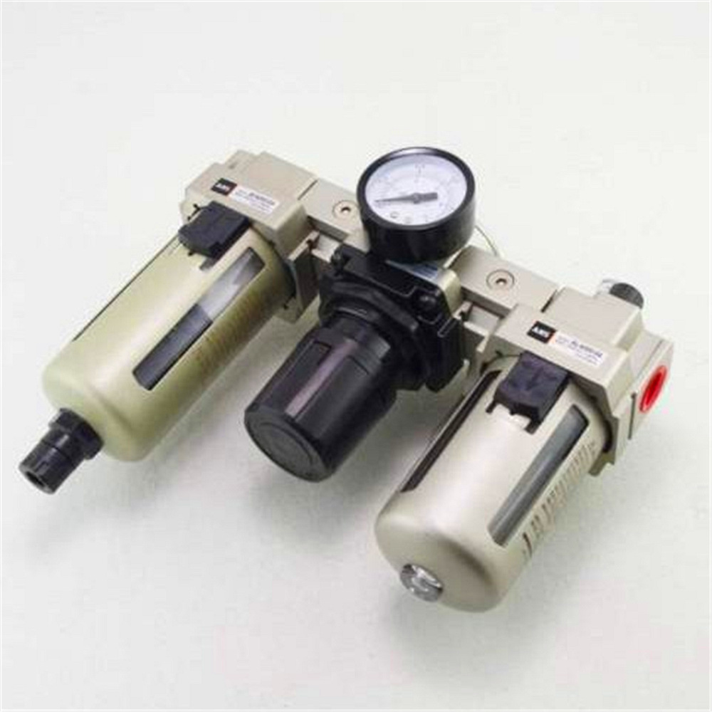 1 Pc 3/8BSPT Air Pressure Filter Regulator Lubricator FRL 1500L/Min Auto Drain Free Shipping free shipping g1 ports air filter regulator model aw5000 10 with pressure gauge 5pcs in lot high flow rate in stock