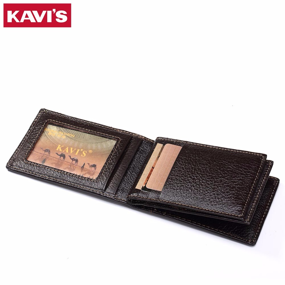 KAVIS 15 Slots Genuine Leather Women Men ID Card Holder Card Wallet Purse Credit Card Business Card Holder Protector Organizer стоимость