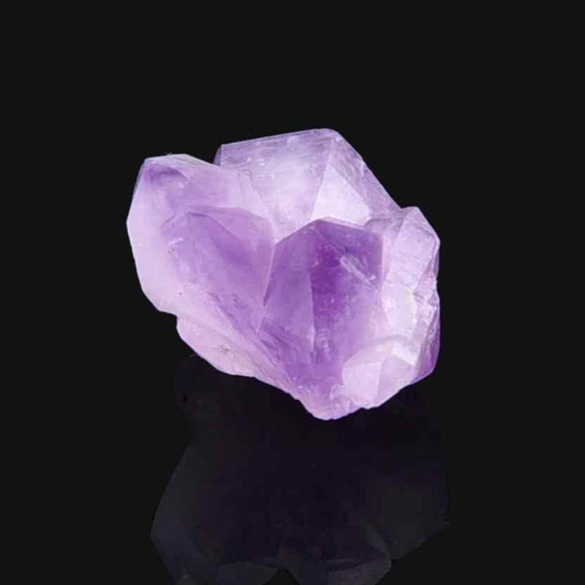 Natural Hexagonal Crystal Quartz Healing Fluorite Wand Stone Purple Purple  Gem Natural amethyst single crystal Dropship 2018a26